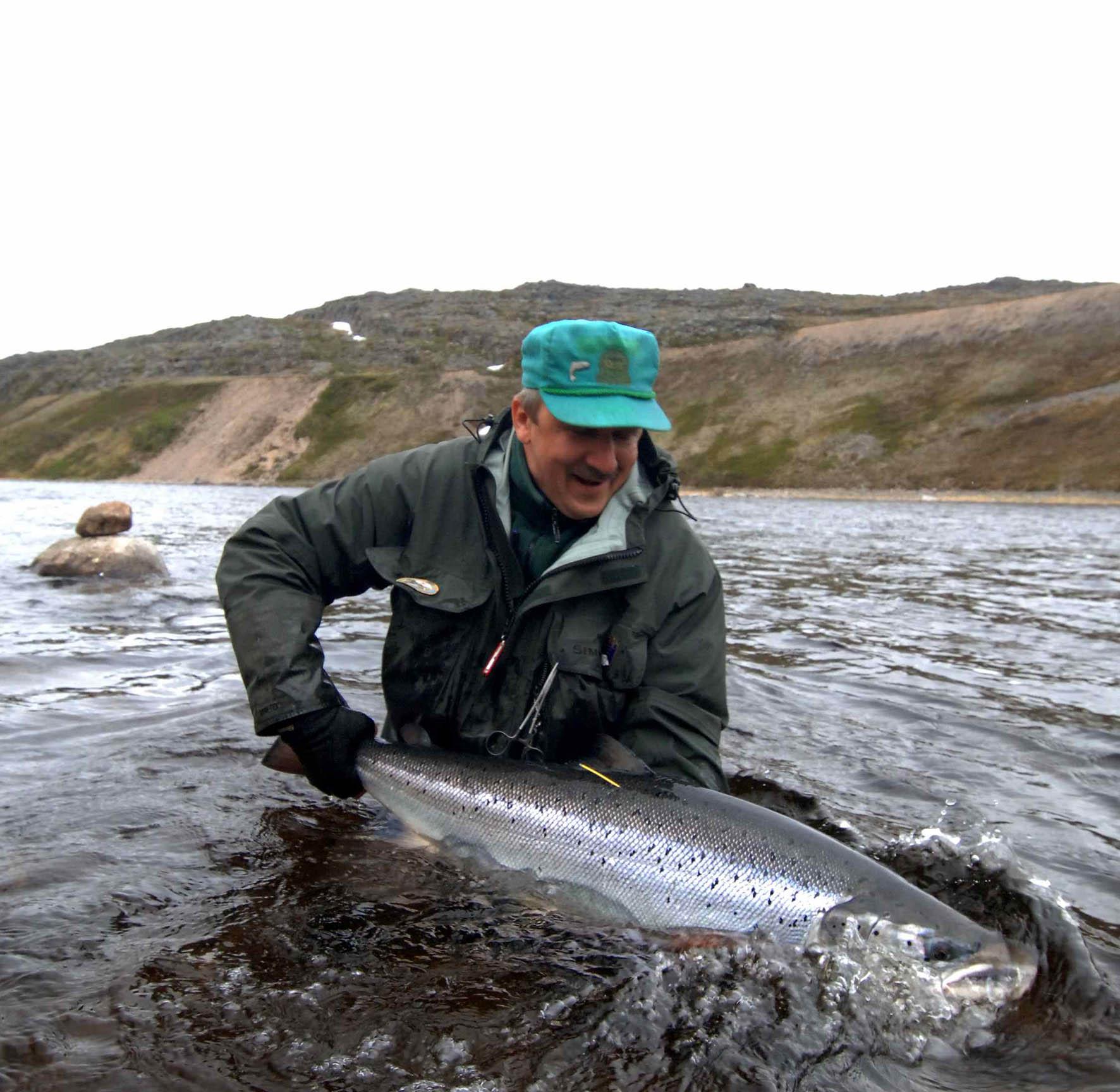 рыбалка на крупную семгу